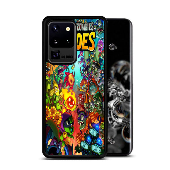 Plants Vs Zombies Heroes Cover Comic Samsung Galaxy S20 Ultra Case | Frostedcase