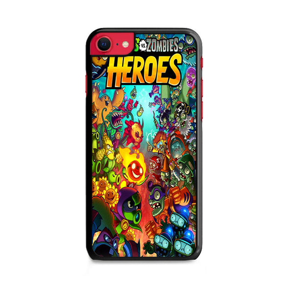 Plants Vs Zombies Heroes Cover Comic iPhone SE Case | Frostedcase