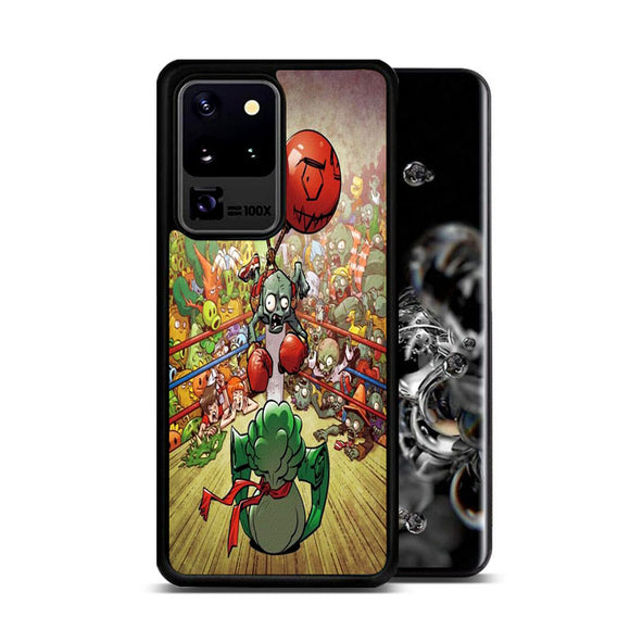 Plants Vs Zombies In Boxing Ring Samsung Galaxy S20 Ultra Case | Frostedcase