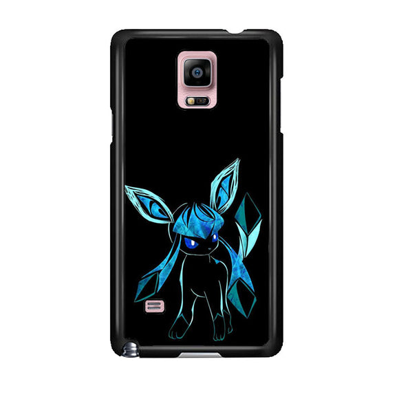 Pokemon Glaceon Night Silhouette Samsung Galaxy Note 4 Case | Frostedcase
