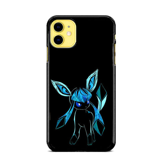 Pokemon Glaceon Night Silhouette iPhone 11 Case | Frostedcase