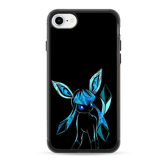 Pokemon Glaceon Night Silhouette iPhone 8 Case | Frostedcase
