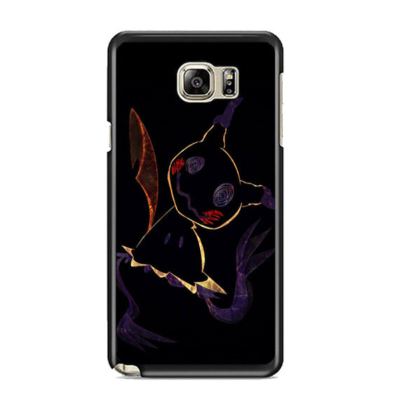 Pokemon Pikachu Silhouette Nightmare Samsung Galaxy Note 5 Case | Frostedcase