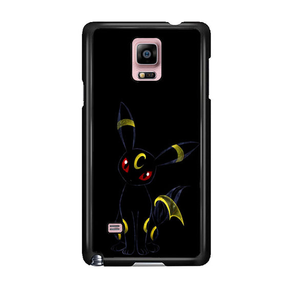 Pokemon Umbreon Night Silhouette Samsung Galaxy Note 4 Case | Frostedcase