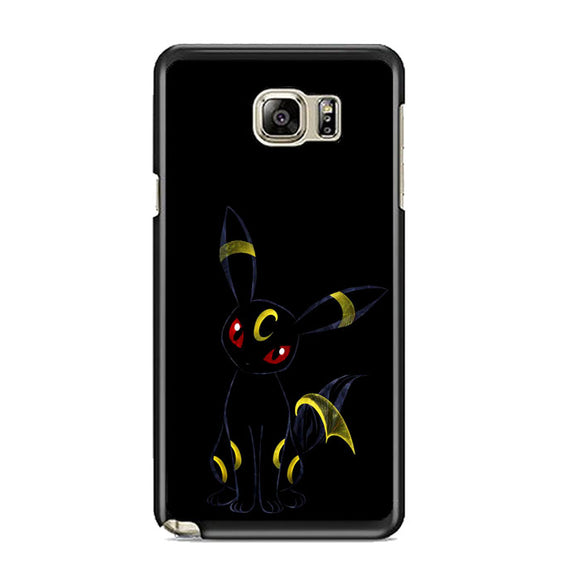 Pokemon Umbreon Night Silhouette Samsung Galaxy Note 5 Case | Frostedcase