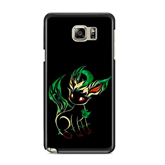 Pokemon Umbreon Silhouette Night Samsung Galaxy Note 5 Case | Frostedcase