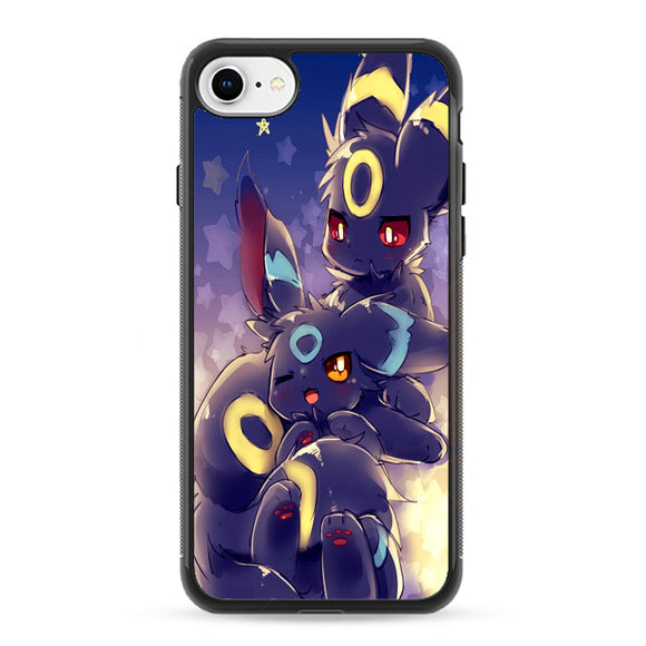Pokemon Shiny Umbreon Doodle iPhone 8 Case | Frostedcase