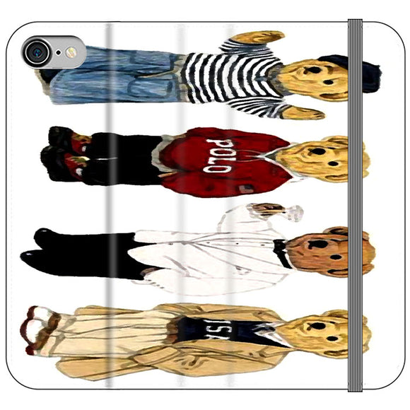 Polo Bear Collaction Usa iPhone 7 Flip Case | Frostedcase