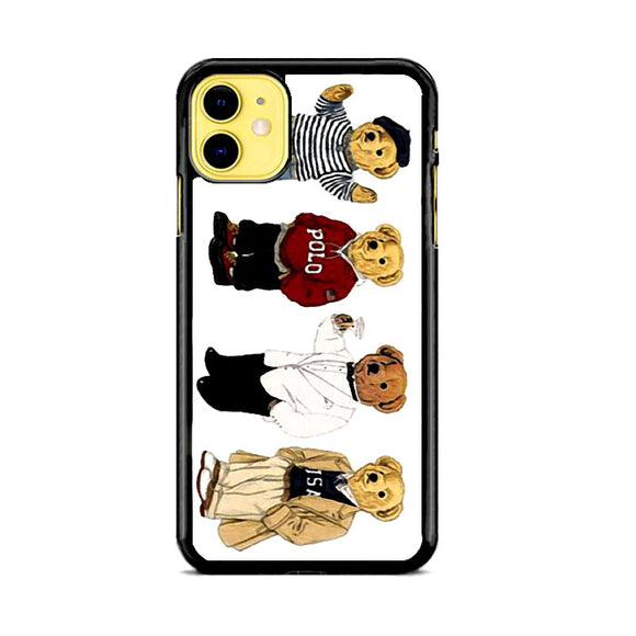 Polo Bear Collaction Usa iPhone 11 Case | Frostedcase