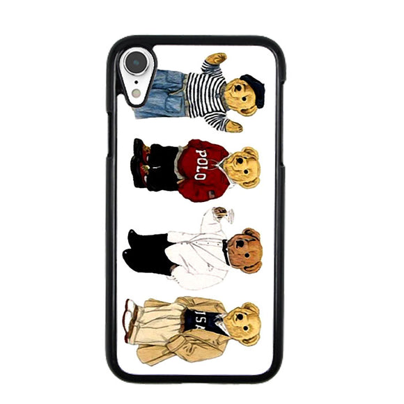 Polo Bear Collaction Usa iPhone XR Case | Frostedcase