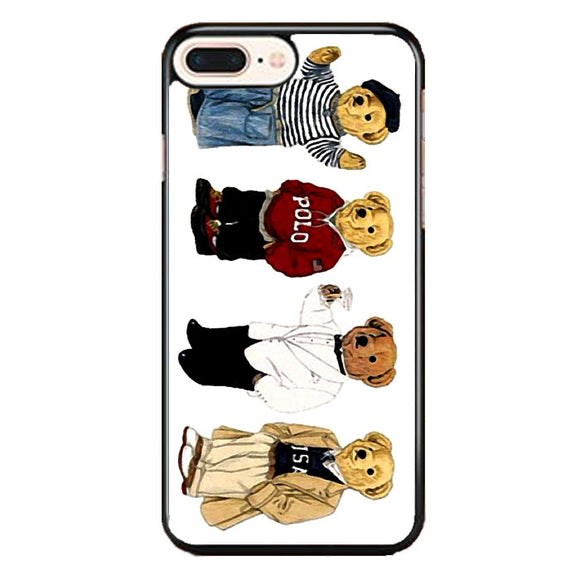 Polo Bear Collaction Usa iPhone 8 Plus Case | Frostedcase