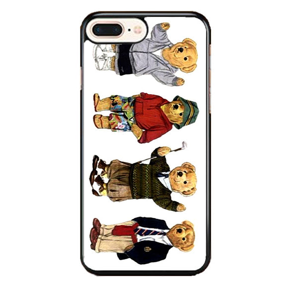 Polo Bear Collection School iPhone 8 Plus Case | Frostedcase