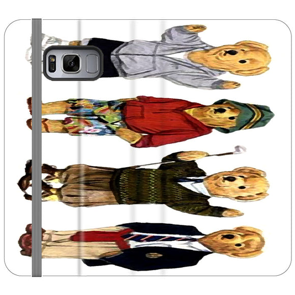Polo Bear Collection School Samsung Galaxy S8 Plus Flip Case | Frostedcase