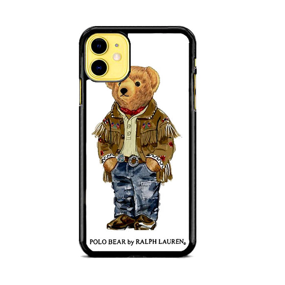 Polo Bear Indian Costume iPhone 11 Case | Frostedcase