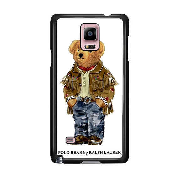 Polo Bear Indian Costume Samsung Galaxy Note 4 Case | Frostedcase