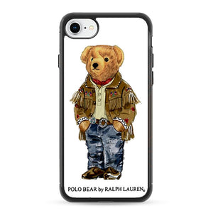 Polo Bear Indian Costume iPhone 8 Case | Frostedcase