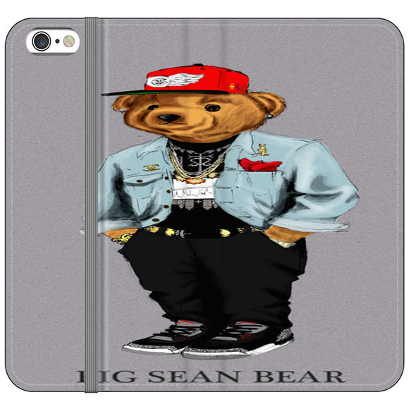 Polo Big Sean Bear iPhone 6 Plus|6S Plus Flip Case | Frostedcase