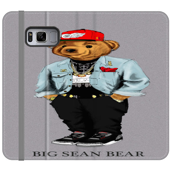 Polo Big Sean Bear Samsung Galaxy S8 Flip Case | Frostedcase