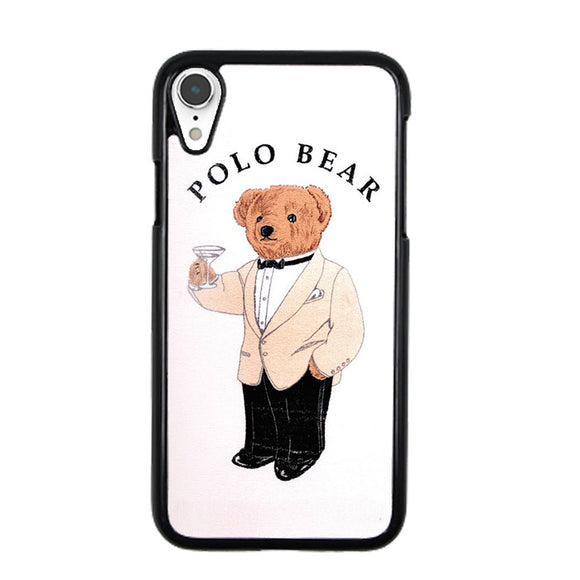 Polo Bear White Suit iPhone XR Case | Frostedcase