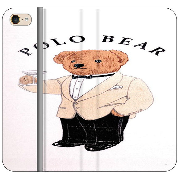 Polo Bear White Suit iPod 5 Flip Case | Frostedcase