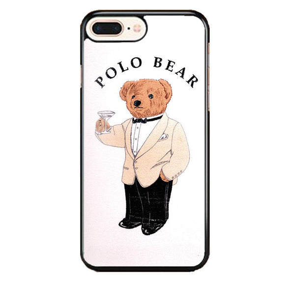 Polo Bear White Suit iPhone 8 Plus Case | Frostedcase