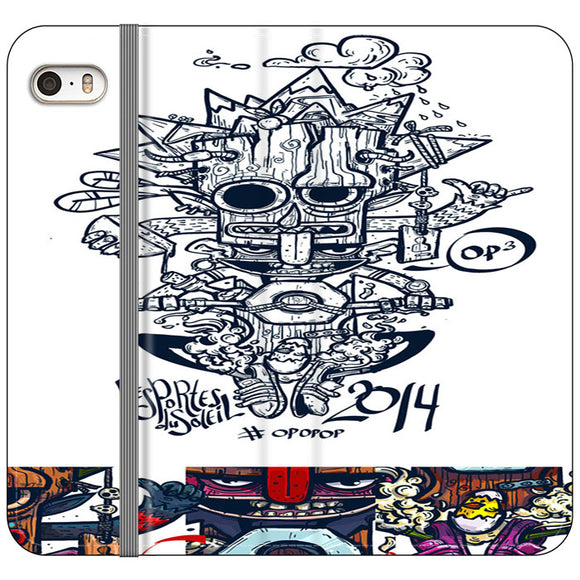 Pop Bikers iPhone 5|5S|SE Flip Case | Frostedcase