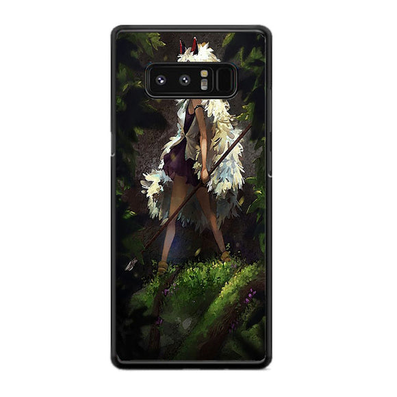 Princess Mononoke In The Forest Samsung Galaxy Note 8 Case | Frostedcase
