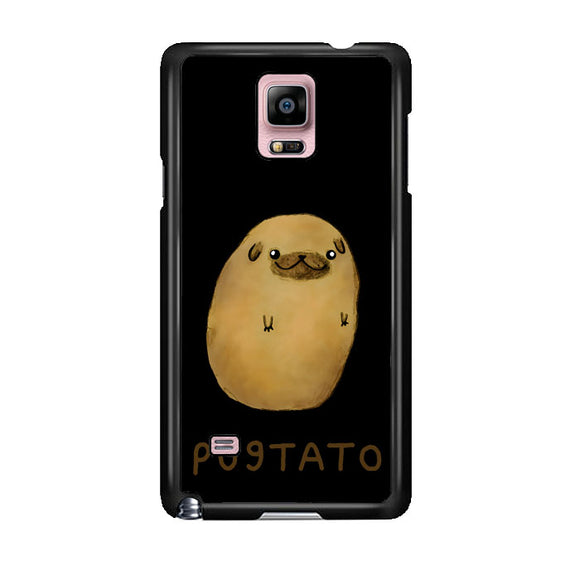 Pugtato Potato Watercolor Samsung Galaxy Note 4 Case | Frostedcase