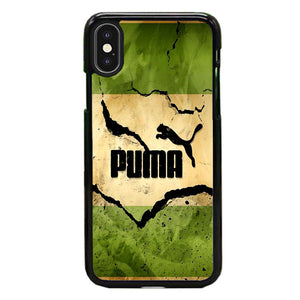 Puma Mural Vintage iPhone X Case | Frostedcase