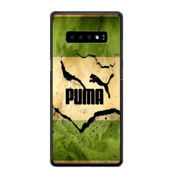 Puma Mural Vintage Samsung Galaxy S10 Case | Frostedcase