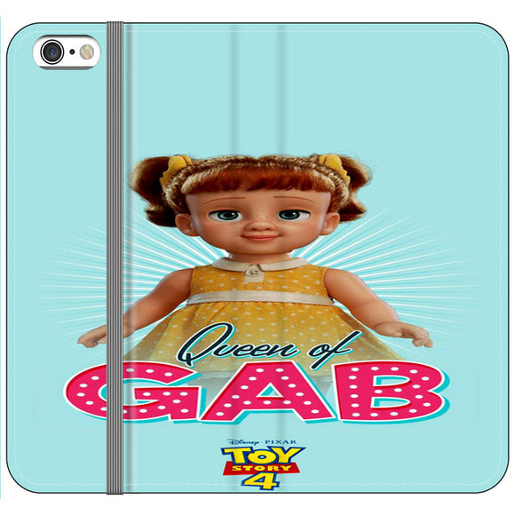 Queen Of Gab Toy Story 4 Poster iPhone 6 Plus|6S Plus Flip Case | Frostedcase