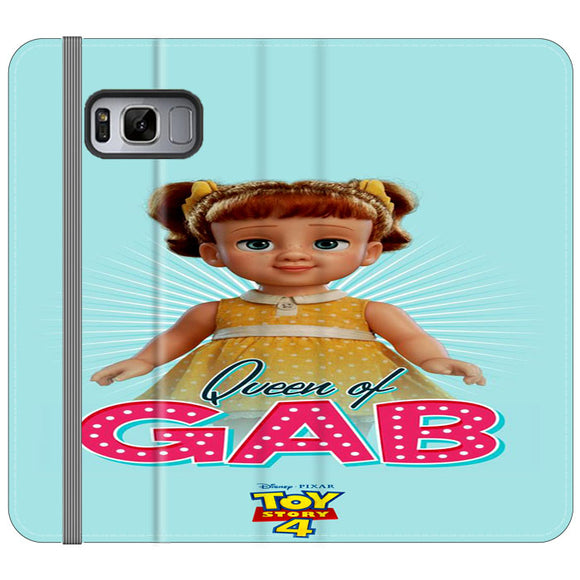 Queen Of Gab Toy Story 4 Poster Samsung Galaxy S8 Plus Flip Case | Frostedcase