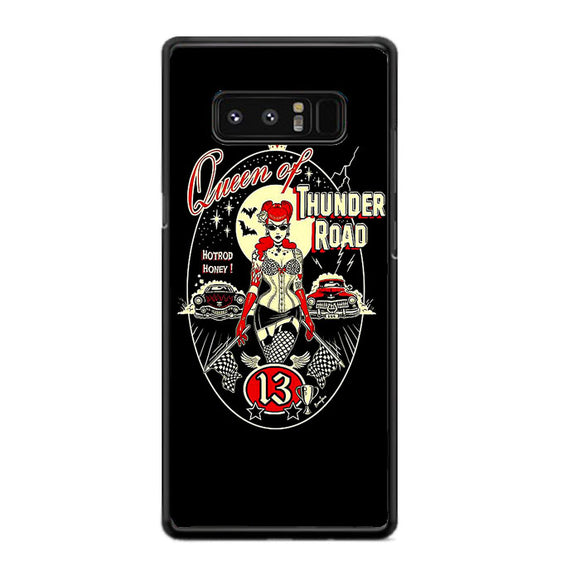 Queen Of Thunder Road Poster Samsung Galaxy Note 8 Case | Frostedcase