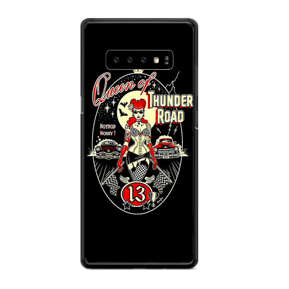 Queen Of Thunder Road Poster Samsung Galaxy S10 Case | Frostedcase