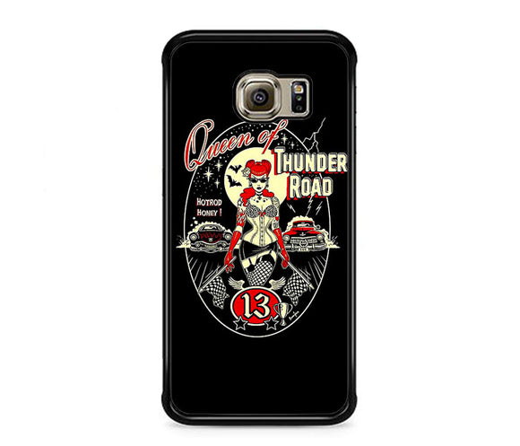 Queen Of Thunder Road Poster Samsung Galaxy S6 EDGE Case | Frostedcase