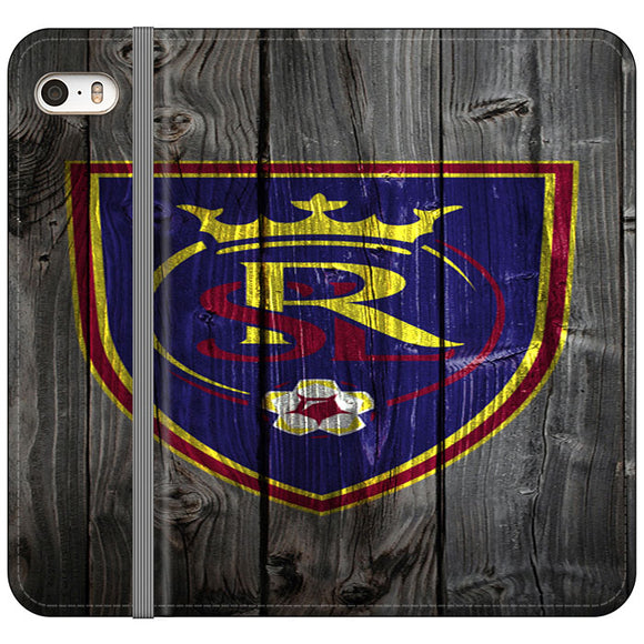 Real Salt Lake iPhone 5|5S|SE Flip Case | Frostedcase