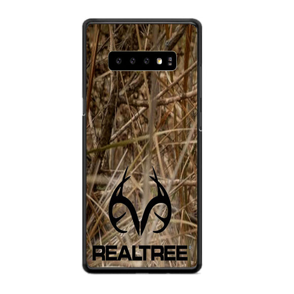 Realtree Camouflage Fabric Samsung Galaxy S10e Case | Frostedcase