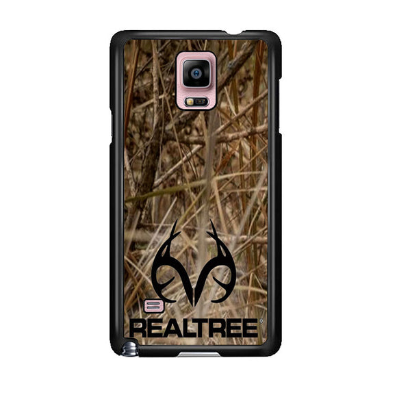 Realtree Camouflage Fabric Samsung Galaxy Note 4 Case | Frostedcase
