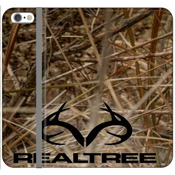 Realtree Camouflage Fabric iPhone 6 Plus|6S Plus Flip Case | Frostedcase