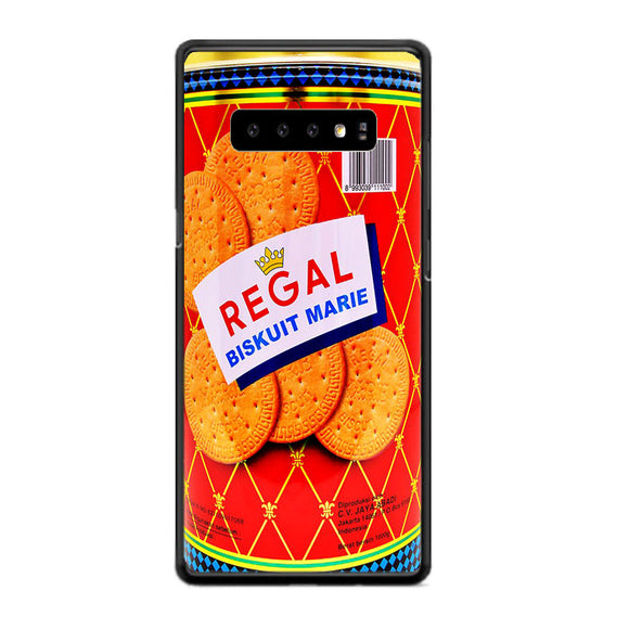 Regal Maries Biscuits Samsung Galaxy S10 Case | Frostedcase