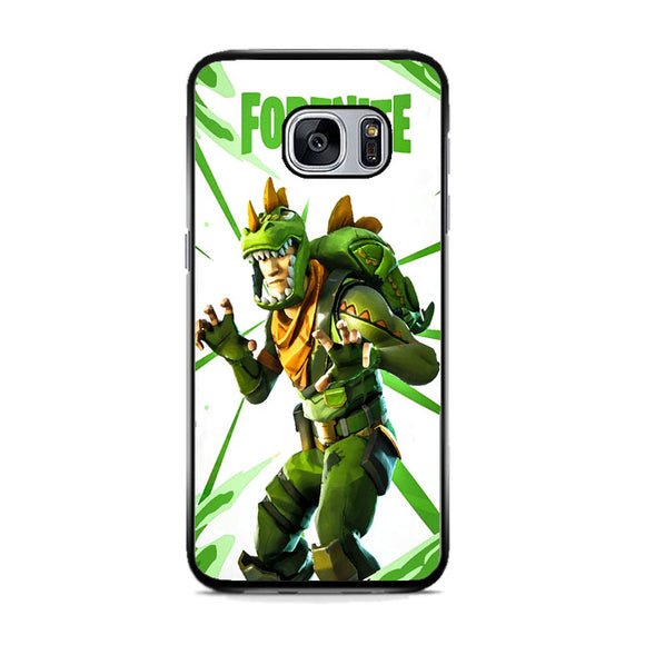 Rex Fortnite Illustration Samsung Galaxy S7 Case | Frostedcase