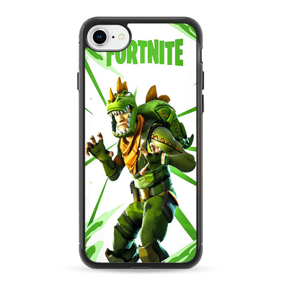 Rex Fortnite Illustration iPhone 8 Case | Frostedcase