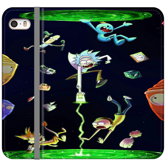 Rick And Morty iPhone 5|5S|SE Flip Case | Frostedcase
