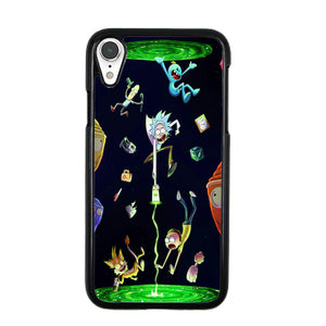 new styles d8a93 0f675 Rick And Morty iPhone XR Case | Frostedcase