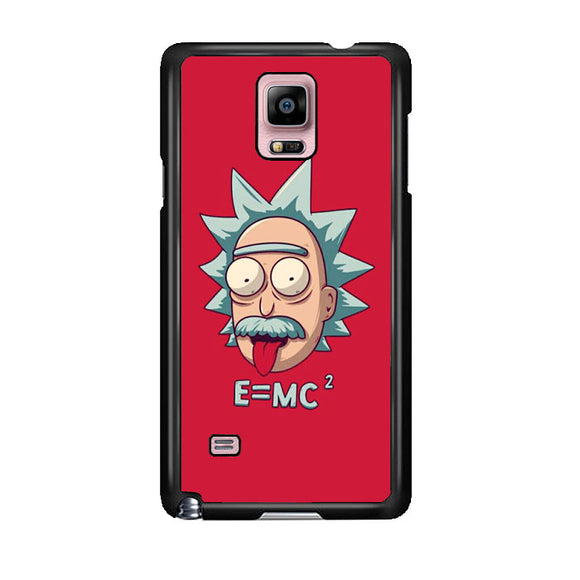 Rick Sanchez Einstein Samsung Galaxy Note 4 Case | Frostedcase