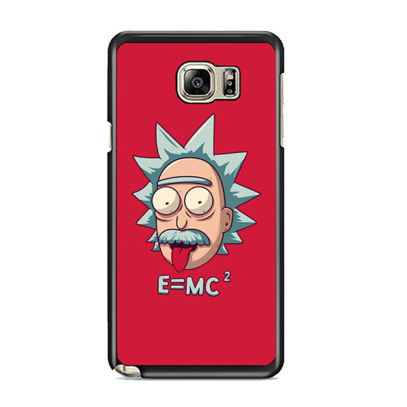 Rick Sanchez Einstein Samsung Galaxy Note 5 Case | Frostedcase