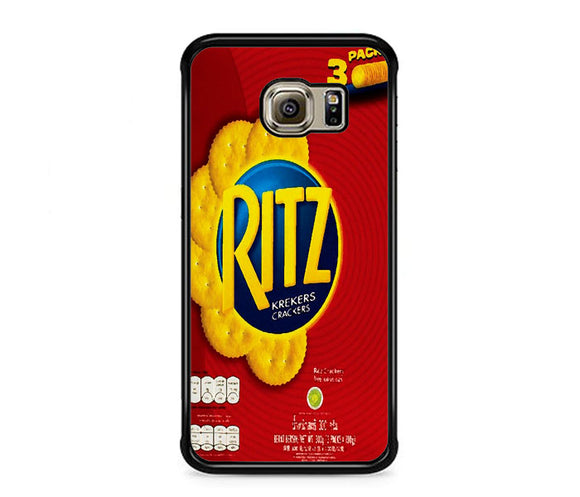 Ritz Crackers Biscuit Samsung Galaxy S6 EDGE Case | Frostedcase