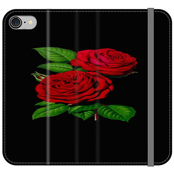 Roses Red iPhone 8 Flip Case | Frostedcase