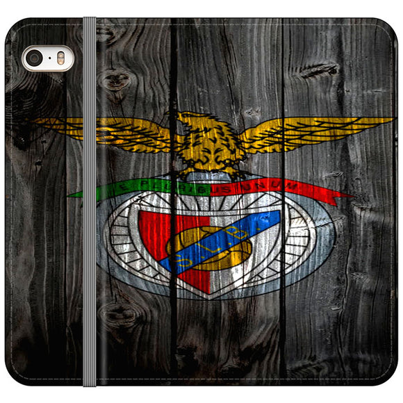S L Benfica iPhone 5|5S|SE Flip Case | Frostedcase