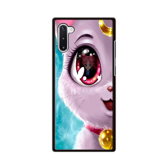 Sailor Moon X Cat Luna Eyes Samsung Galaxy Note 10 Case | Frostedcase